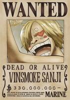 Sanji terza taglia