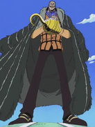 Crocodile's Arabasta Arc Outfit
