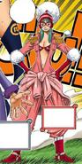 Porche in the Digitally Colored Manga