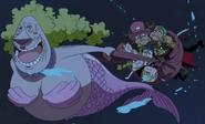 Kokoro Rescues Straw Hats