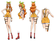 Nami Stampede Outfit