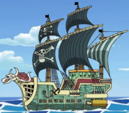 Rumbar Pirates Ship Second Anime Color Scheme