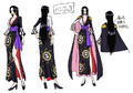 Boa Hancock's Outfit in Stampede