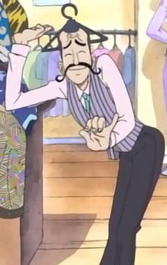Hanger in the anime