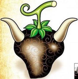 Fruta Ushi Ushi: modelo bisonte
