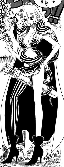 Marguerite in the manga