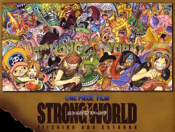 One Piece Film STRONG WORLD Eiichiro Oda Artbook