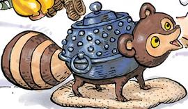 Bunbuku in the manga