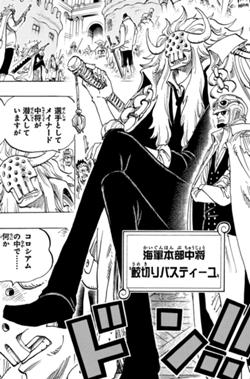 Bastille dalam manga