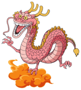 Momonosuke Dragon Anime Concept Art