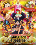 One Piece Film Gold ES Poster