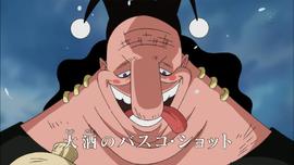 Vasco Shot dalam anime