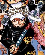 Law's Manga Color Scheme
