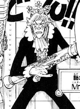 Mr. 9 before the timeskip in the manga