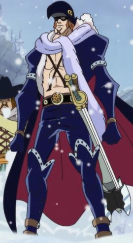 X Drake before the timeskip in the anime