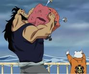 Jean Bart atrapa a Jinbe