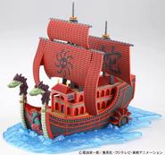 Presentacion barco nine snake pirates ship