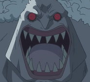 Hody's Face in his Second Transformation
