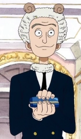 Merry before the timeskip in the anime
