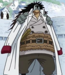 Вице-адмирал Ронс в аниме