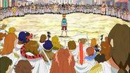 Luffy vs kujas 3