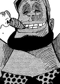 Yamakaji en el manga