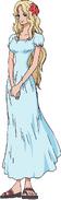 Portgas D. Rouge Anime Color Scheme