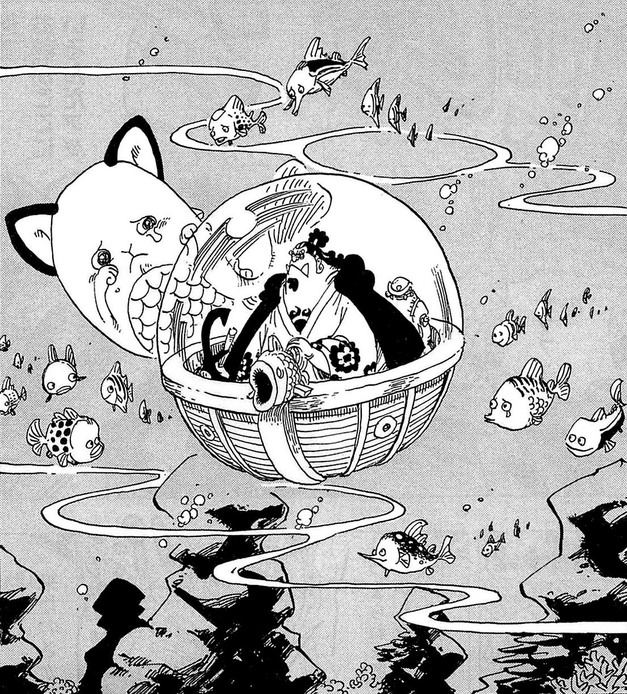 El solitario viaje de Jinbe, el Caballero del Mar