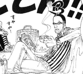 Galdino in the manga