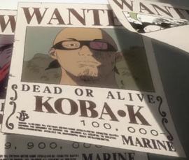 Koba K in the anime