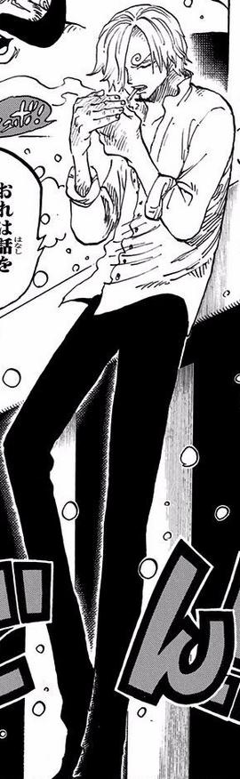 Sanji depois do timeskip no mangá