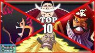 Inilah Urutan 10 Bajak Laut Legendaris Terkuat (One Piece)