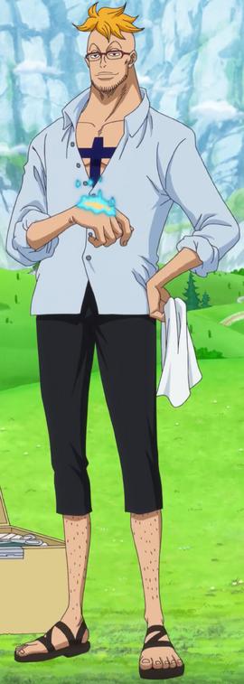 Marco tras el salto temporal en el anime