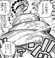 Queen enroule Sanji