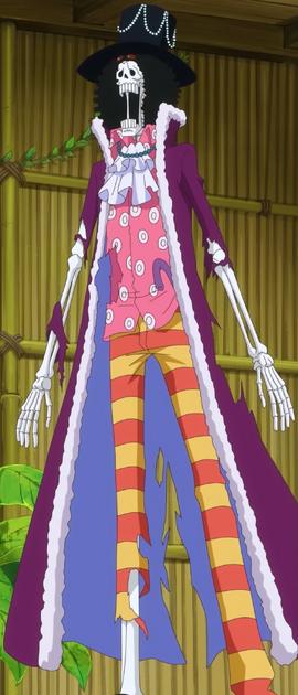 Брук после таймскипа в аниме