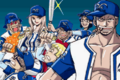 Marine Team Going Baseball