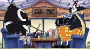 Seven Warlords of the Sea Waiting Room at Marineford