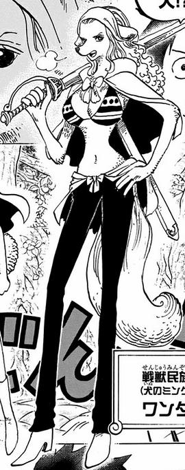 Wanda in the manga