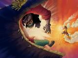 Monkey D. Luffy vs. Marshall D. Teach