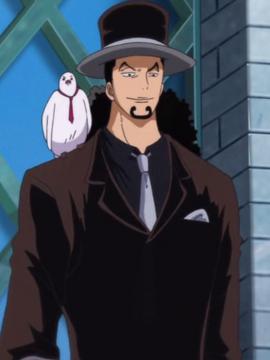 Rob Lucci antes del salto temporal en el anime