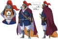 Inuarashi Anime Concept Art