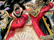 Blackbeard's Manga Color Scheme