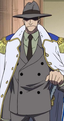 Bogard en el anime