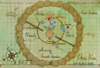Mappa Dressrosa