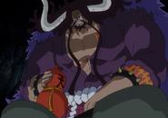 Kaidou With His Shirt On
