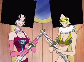 Киви и Модзу в аниме