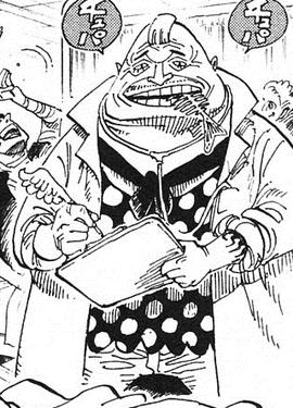 Fishbonen in the manga