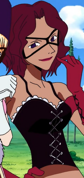 Gina in the anime