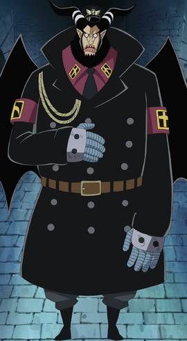 Magellan before the timeskip in the anime