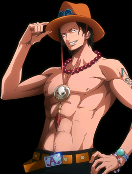 Portgas D. Ace in the anime